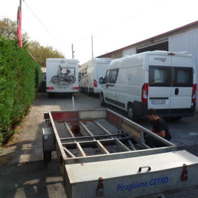 Talleres de reparaciones, autocaravanas y caravanas en Bizkaia